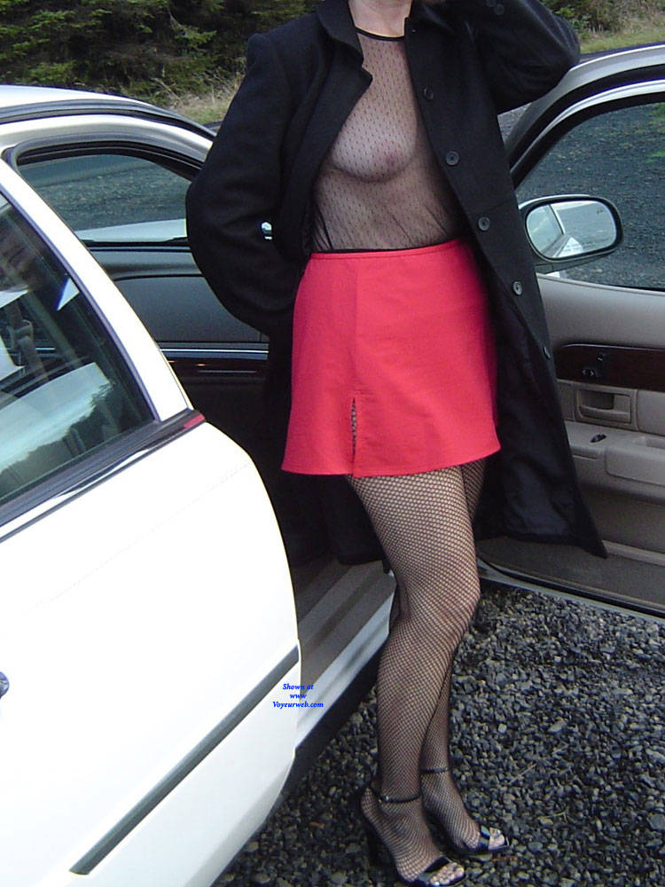 Pic #1 Connie A Continuation - Big Tits, High Heels Amateurs, Lingerie, Outdoors, See Through, Amateur, Stockings Pics