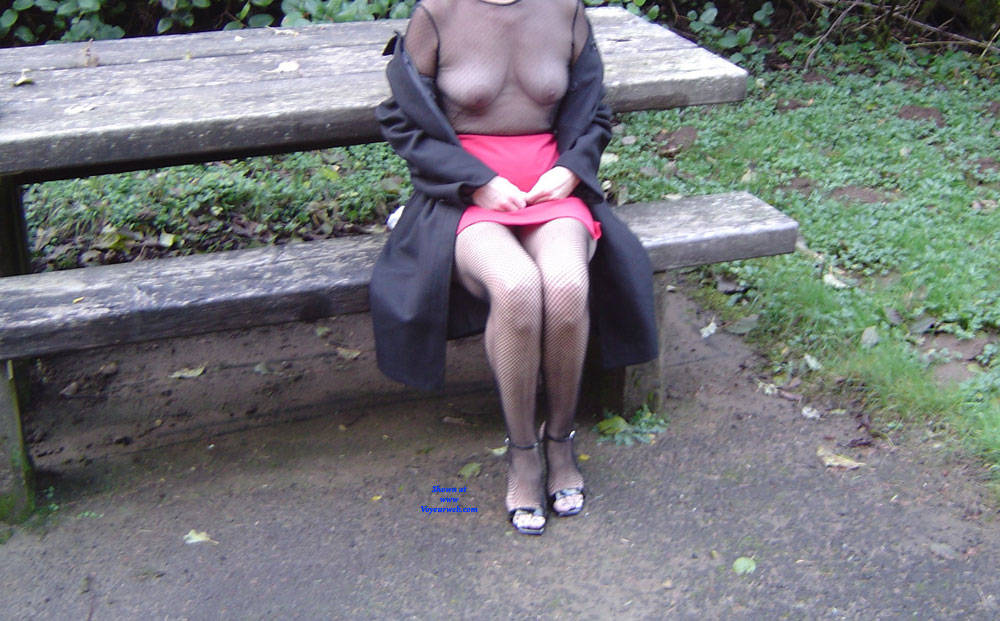 Pic #5 Connie A Continuation - Big Tits, High Heels Amateurs, Lingerie, Outdoors, See Through, Amateur, Stockings Pics
