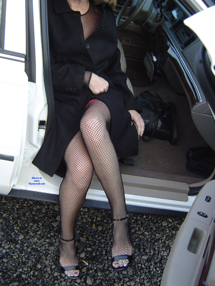 Pic #4 Connie A Continuation - Big Tits, High Heels Amateurs, Lingerie, Outdoors, See Through, Amateur, Stockings Pics