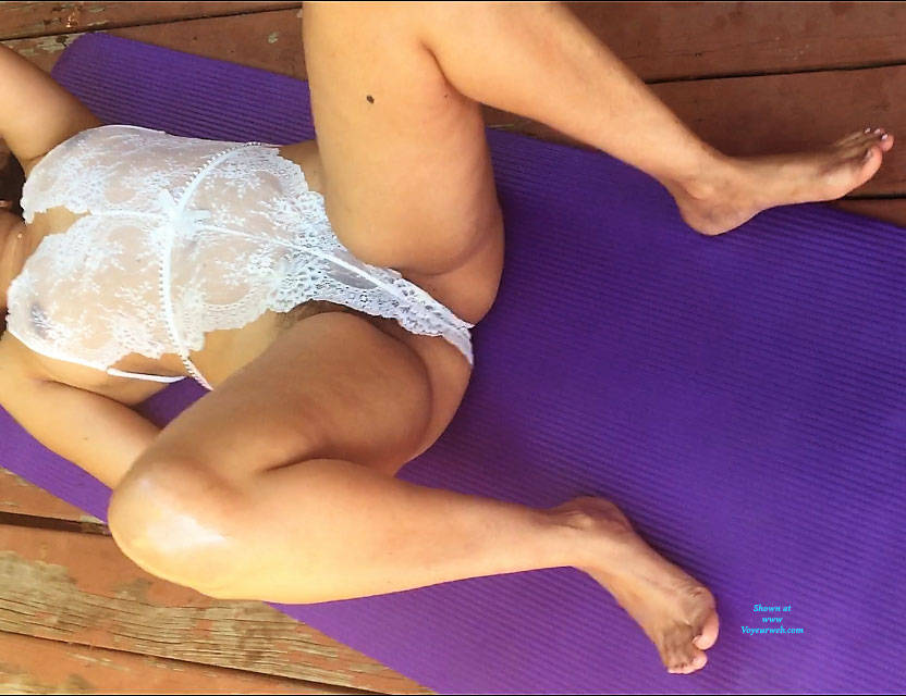 Pic #6 Hot Massage - Outdoors, See Through, Wife/wives, Amateur