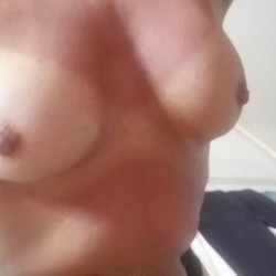 Small tits of a co-worker - Conny