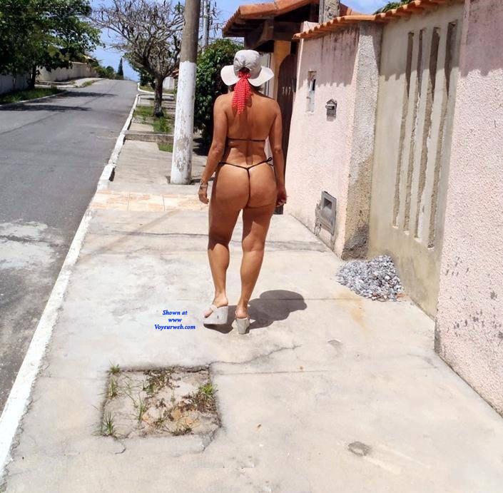 Pic #2 Edna From Recife City, Brazil - Public Exhibitionist, Outdoors, Public Place, Amateur