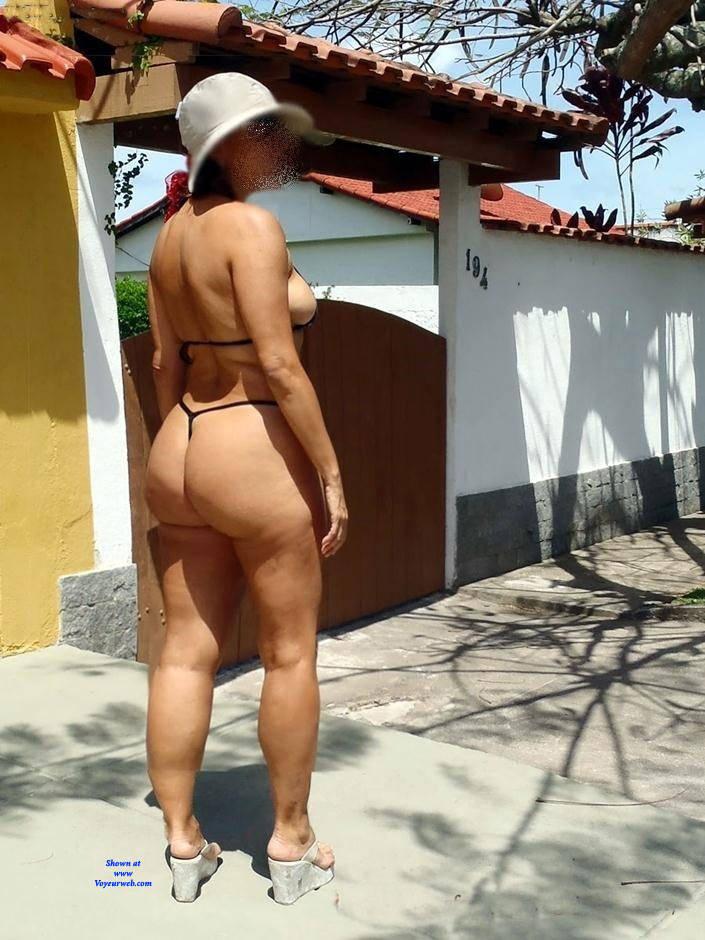 Pic #5 Edna From Recife City, Brazil - Public Exhibitionist, Outdoors, Public Place, Amateur