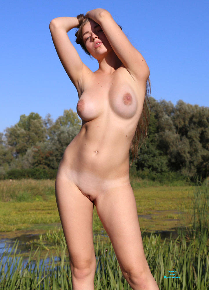 Pic #3 Summer Sky - Nude Girls, Big Tits, Brunette, Outdoors, Shaved, Amateur, Firm Ass