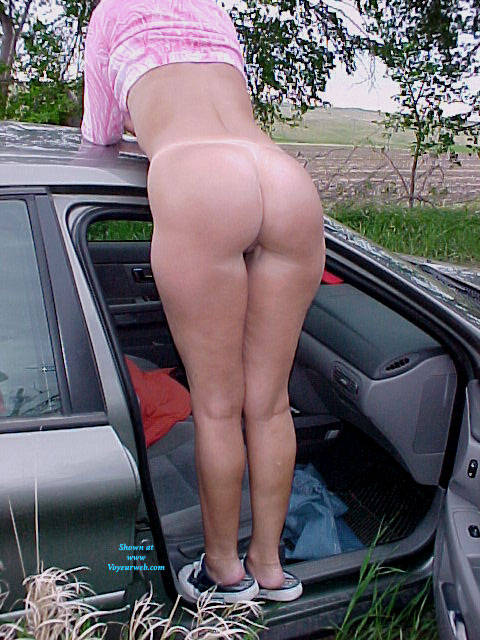 Pic #5 My Blondie Having Fun In Nature - Outdoors, Amateur, Firm Ass