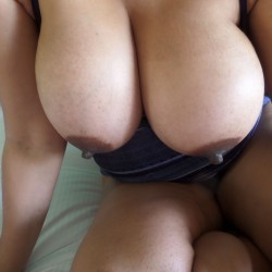 Very large tits of my wife - DCWife1