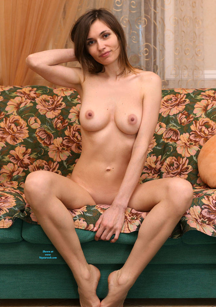 Pic #3 The Evening Is Coming - Nude Girls, Big Tits, Brunette, Shaved, Amateur