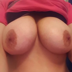 Very large tits of my wife - Milf Wife 33
