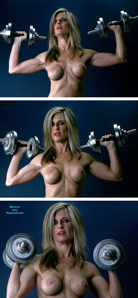 Pic #4 Weights - Nude Girls, Big Tits, Blonde, Shaved, Mature