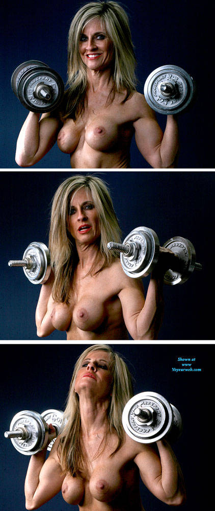 Pic #9 Weights - Nude Girls, Big Tits, Blonde, Shaved, Mature