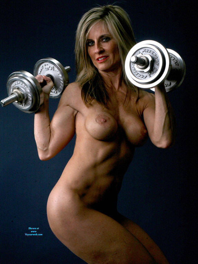 Pic #10 Weights - Nude Girls, Big Tits, Blonde, Shaved, Mature