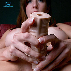 Dildo Stocking Self-Sex - Toys, Bush Or Hairy