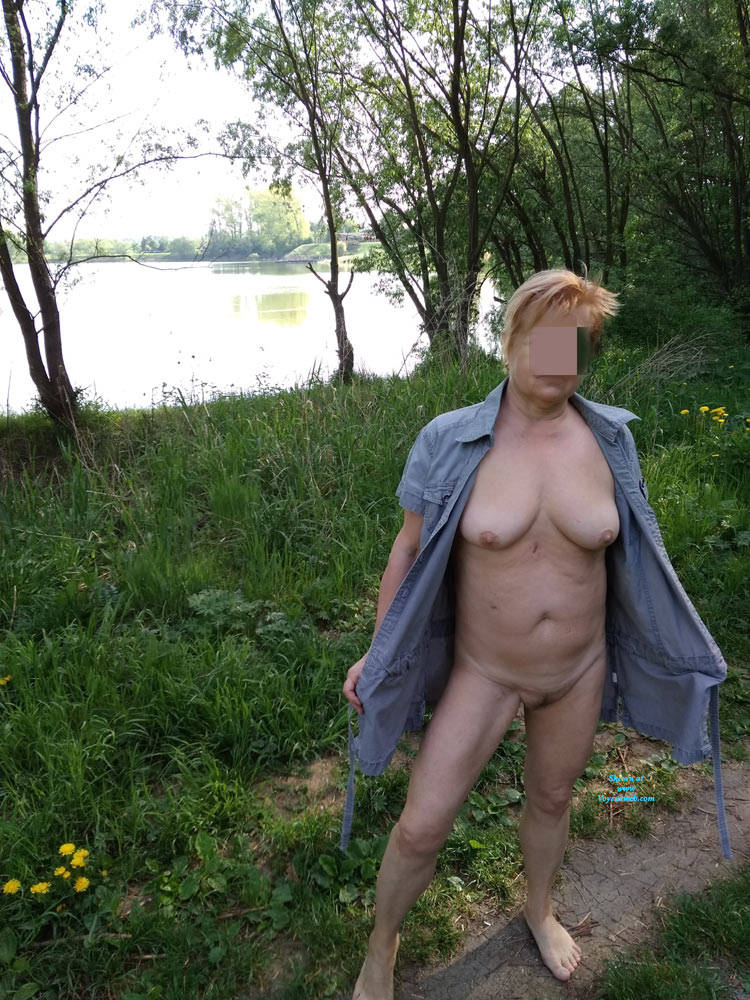 Pic #4 In Nature - Big Tits, Public Exhibitionist, Flashing, Outdoors, Public Place, Wife/wives, Amateur