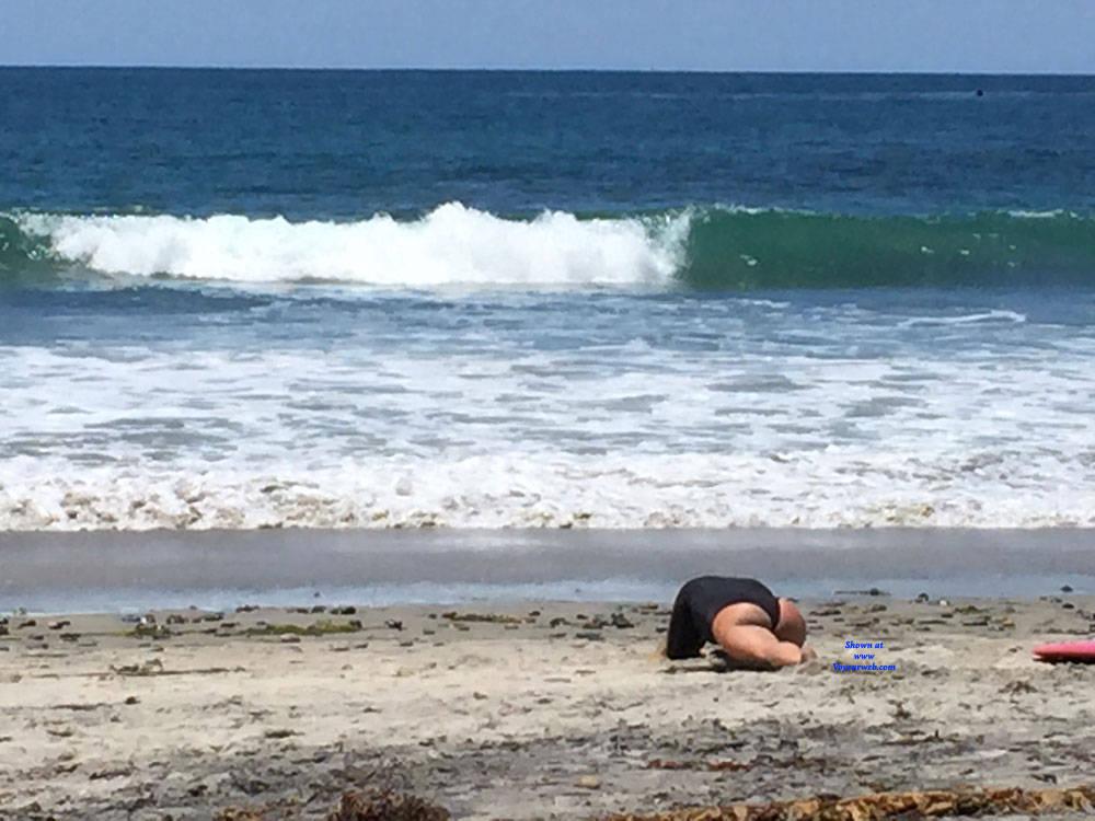 Pic #5 Sexy Surfer Ass - Beach, Outdoors, Beach Voyeur