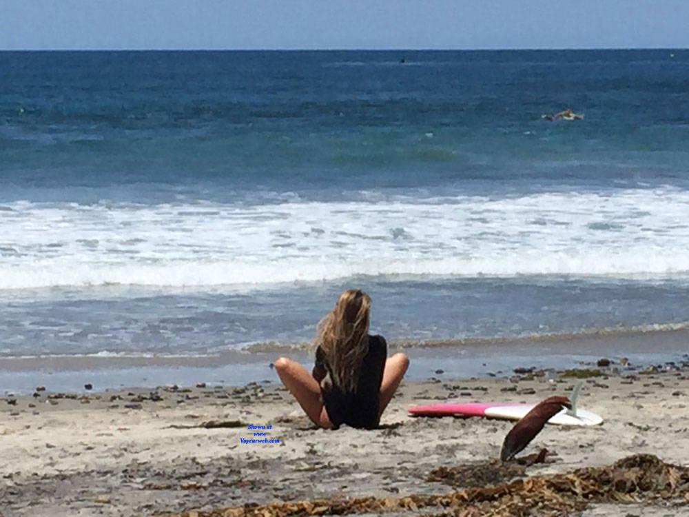 Pic #4 Sexy Surfer Ass - Beach, Outdoors, Beach Voyeur