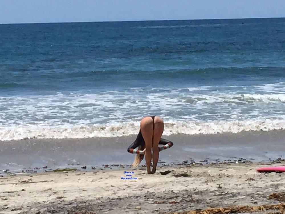 Pic #8 Sexy Surfer Ass - Beach, Outdoors, Beach Voyeur
