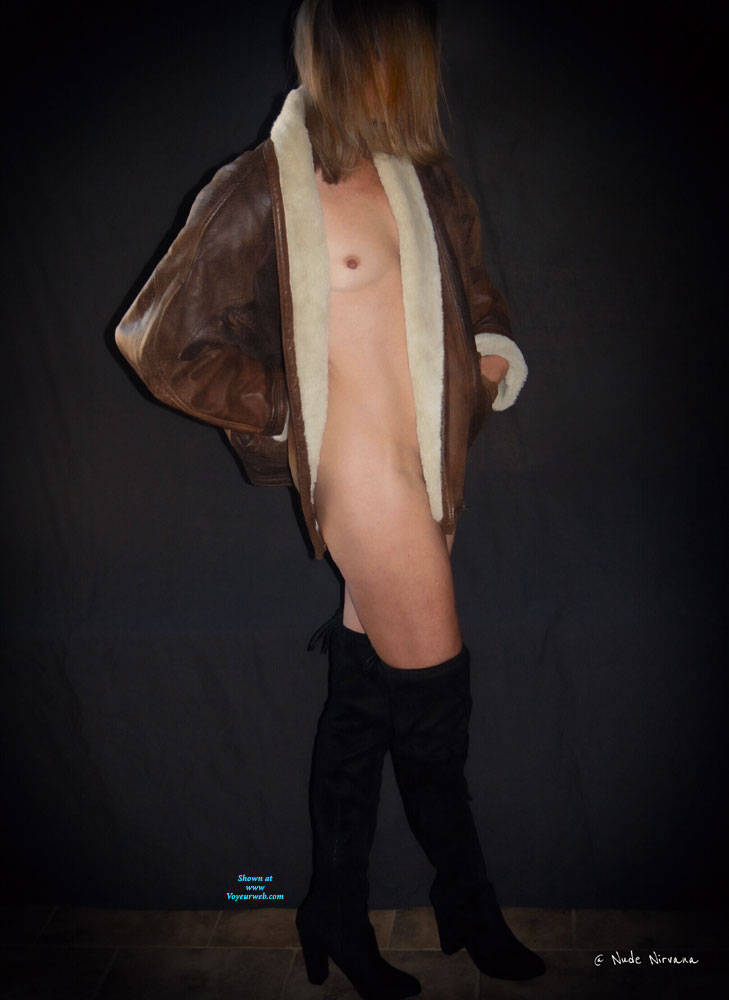 Pic #2 Nirvana In Leather - Nude Girls, Small Tits, Shaved, Amateur