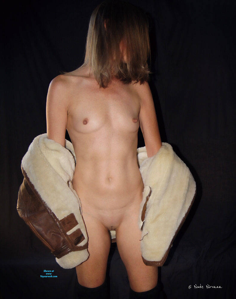 Pic #5 Nirvana In Leather - Nude Girls, Small Tits, Shaved, Amateur
