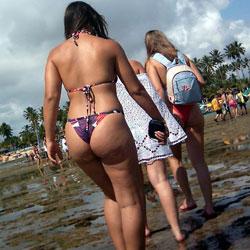 Brazilian Asses - Outdoors, Bikini Voyeur, Beach Voyeur