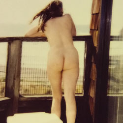 Wife On Balcony - Nude Wives, Outdoors, Bush Or Hairy, Amateur