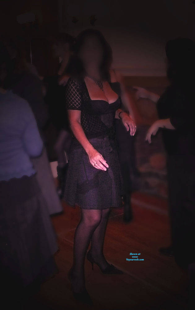 Pic #2 My Wife Exhibits Herself In A Night-Club - Wives In Lingerie, Amateur