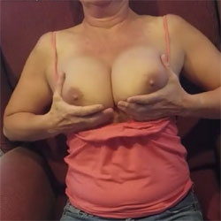 Cub Plays With Her 36d's - Big Tits, Amateur