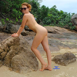 Nude Beach Day - Nude Girls, Beach, Outdoors, Amateur