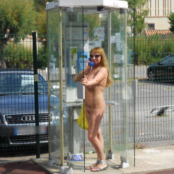 Pic #3 Nude On Streets And In The Shop - Nude Girls, Big Tits, Public Exhibitionist, Flashing, Outdoors, Public Place, Amateur
