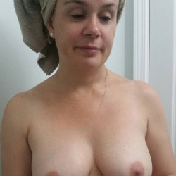 Large tits of a neighbor - My crazy friend