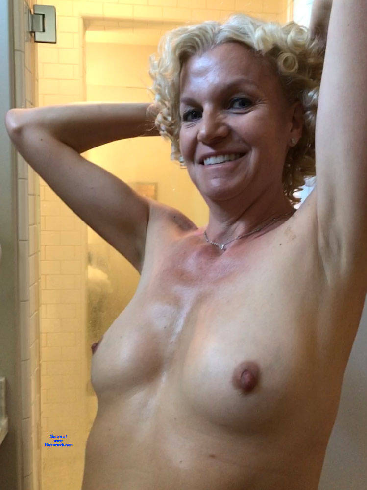 Pic #2 Ready For The Big Event - Big Tits, Blonde, Amateur