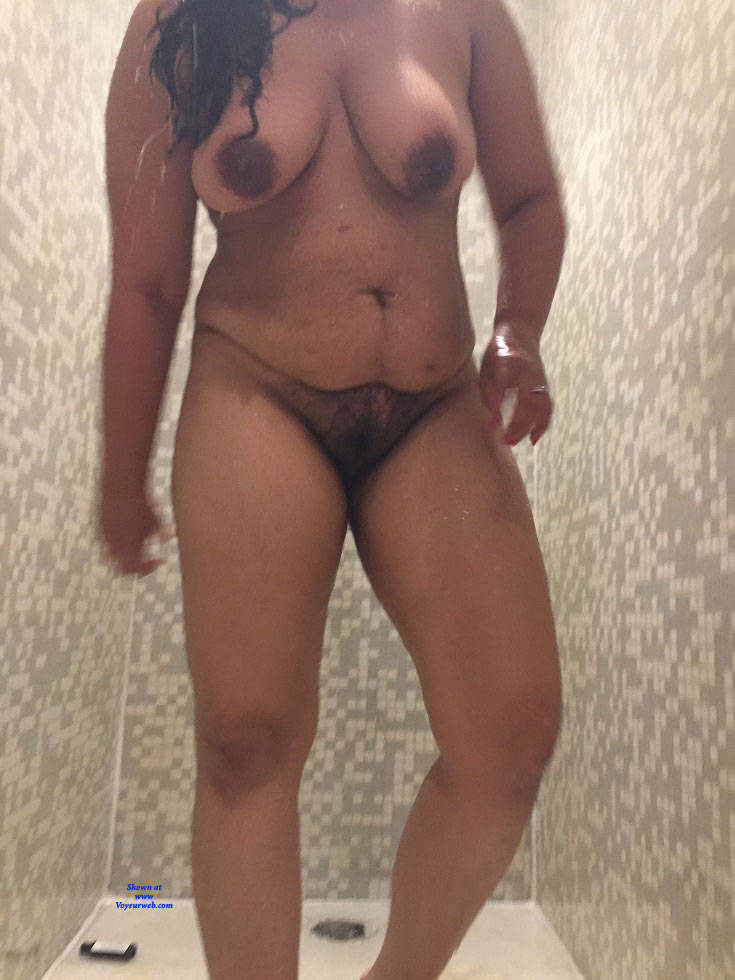 Pic #10 Shower Power - Nude Girlfriends, Big Tits, Bush Or Hairy, Amateur, See Through