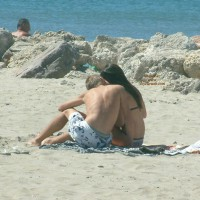 I Love France - Beach Young Lovers
