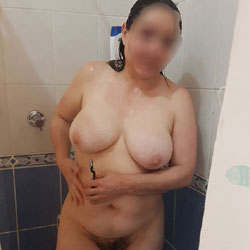 Shower Goddess Part 2 - Big Tits, Brunette, Bush Or Hairy, Amateur