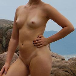 Nude Beach Day 2 - Nude Girls, Beach, Outdoors, Amateur
