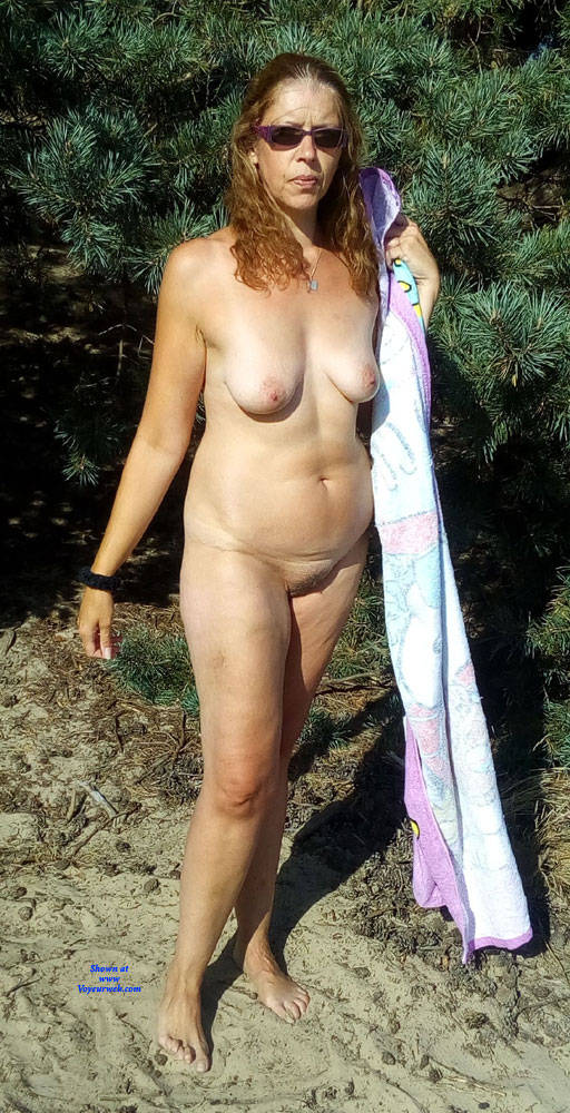 Pic #2 Dutch Tineke 50 Year Love To Pose And Expose - Nude Girls, Mature, Outdoors, Redhead, Bush Or Hairy, Amateur