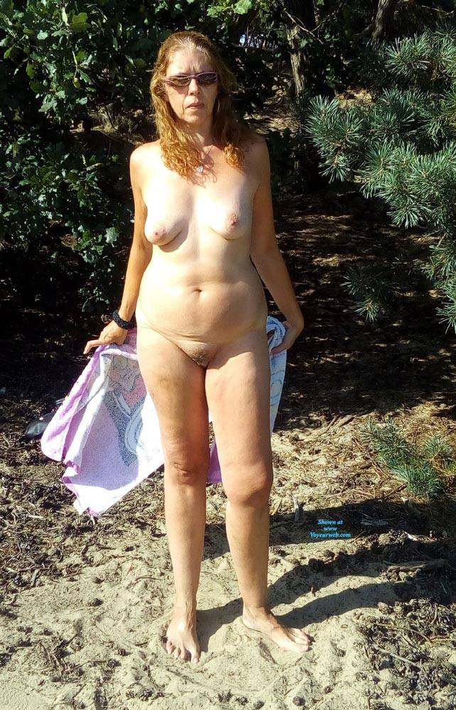 Pic #5 Dutch Tineke 50 Year Love To Pose And Expose - Nude Girls, Mature, Outdoors, Redhead, Bush Or Hairy, Amateur