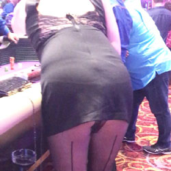 Teasing At The Casino - Lingerie, Public Place, Wife/wives, Amateur, Dressed