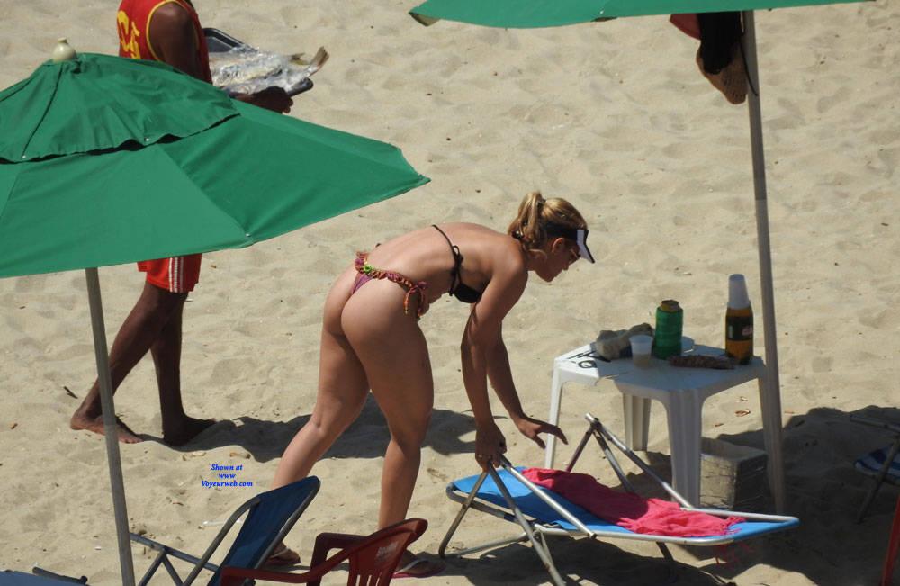 Pic #1 Brazilian Ass From Recife City - Beach, Outdoors, Bikini Voyeur, Beach Voyeur