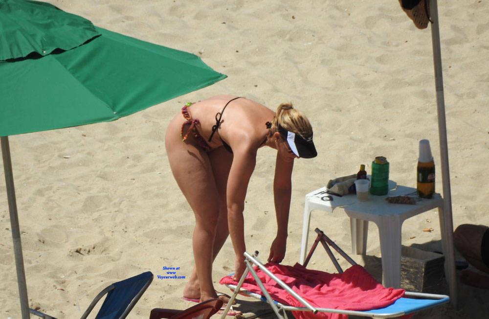 Pic #2 Couple In Brazlian's Beach - Beach, Outdoors, Bikini Voyeur, Beach Voyeur