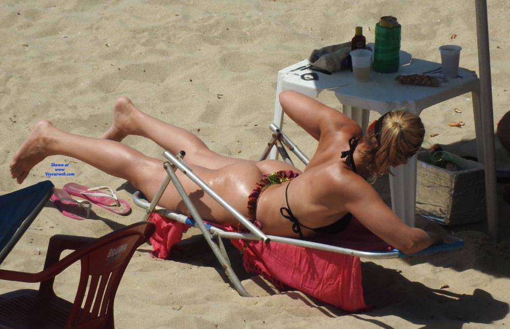 Pic #3 Couple In Brazlian's Beach - Beach, Outdoors, Bikini Voyeur, Beach Voyeur