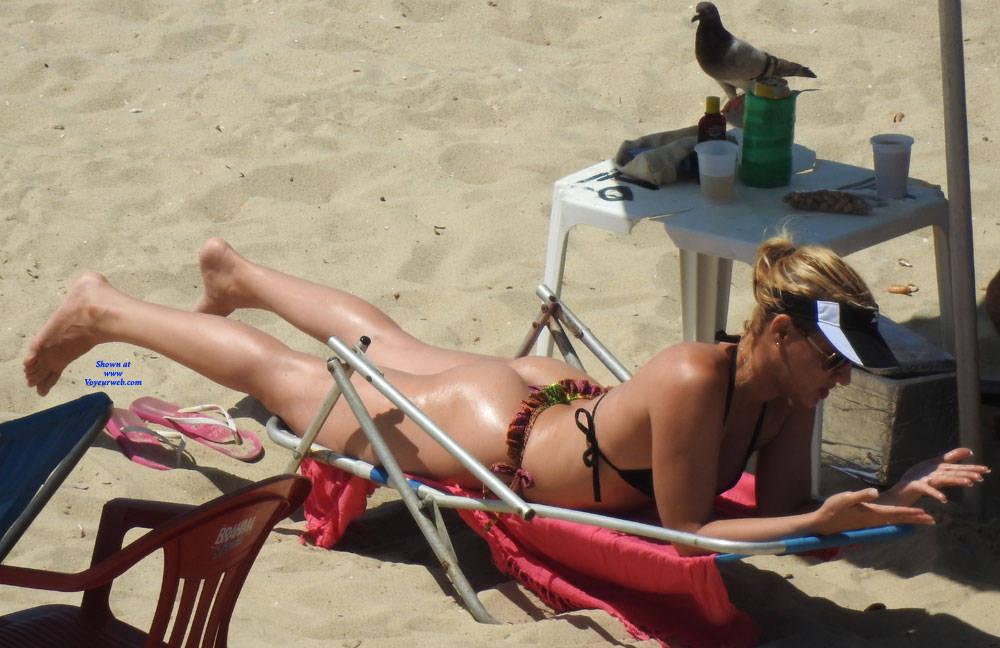Pic #4 Couple In Brazlian's Beach - Beach, Outdoors, Bikini Voyeur, Beach Voyeur