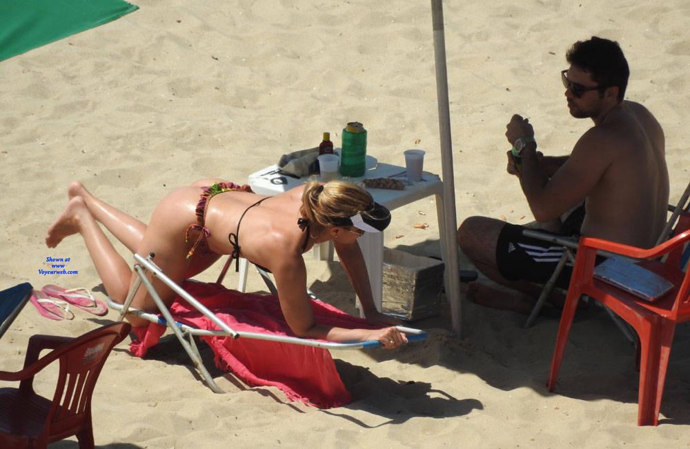 Pic #5 Couple In Brazlian's Beach - Beach, Outdoors, Bikini Voyeur, Beach Voyeur