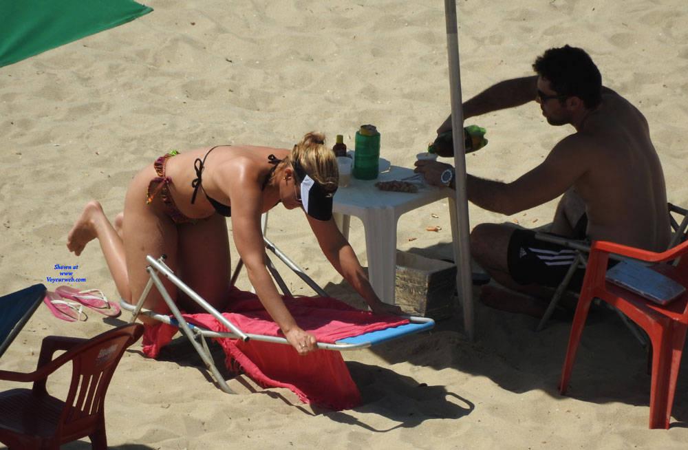 Pic #6 Couple In Brazlian's Beach - Beach, Outdoors, Bikini Voyeur, Beach Voyeur