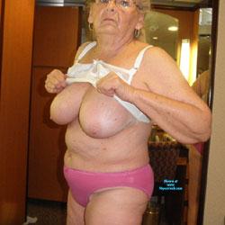 Posing For The Men - Big Tits, Mature, Amateur