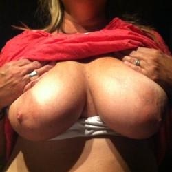 Large tits of a neighbor - Sassy