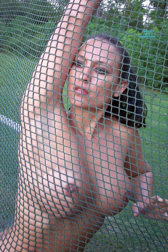 Pic #6 Ballfield Nudes - Nude Girls, Big Tits, Brunette, Outdoors, Public Place, Amateur, Firm Ass