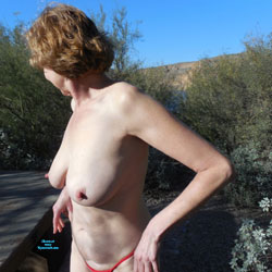 Sara Showing Off In Several Places - Lingerie, Outdoors, Amateur, stockings pics, Wife/Wives