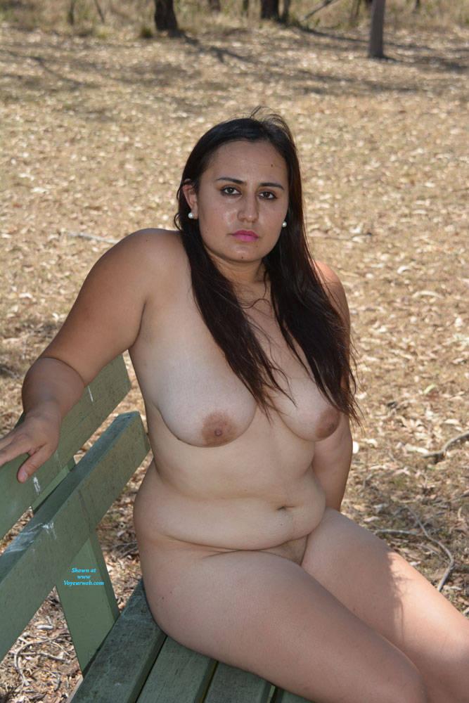 Pic #5 Valeria - Nude Girls, Big Tits, Brunette, Outdoors, Shaved, Amateur
