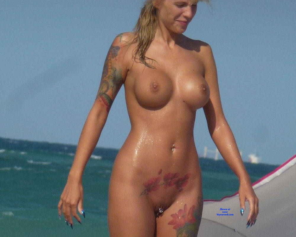 Were visited tattooed nude girl beach something