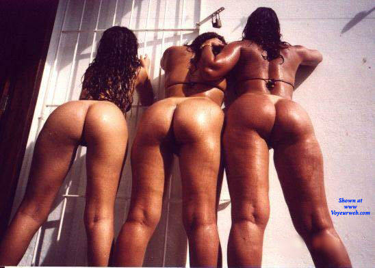 Pic #2 Selma Brasil And Friends From Recife City - Nude Girls, Brunette, Outdoors